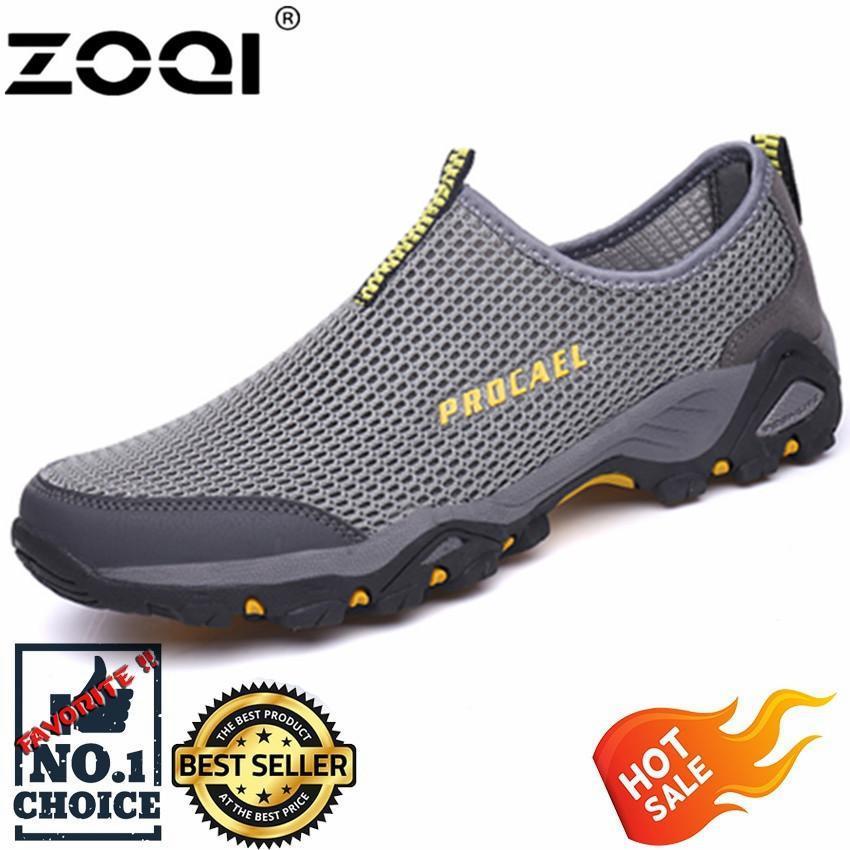 Zoqi Mode untuk Pria Sepatu Olahraga Luar Ruangan Sepatu Mendaki 55d4c1a782