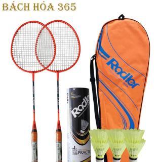 Bộ vợt cầu lông Roadler khung hợp kim Bộ 2 vợt cầu lông tặng kèm 6 quả cầu thumbnail