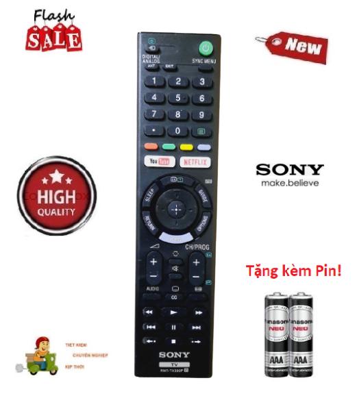 Bảng giá Remote Điều khiển Tivi Sony RMT-TX300P- Hàng loại 1 chất lượng cao Made in malaysia & Tặng kèm pin