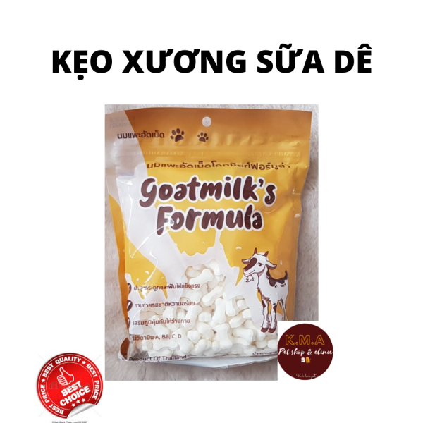 Kẹo sữa dê cho chó - goatmilks fomula - Thái Lan
