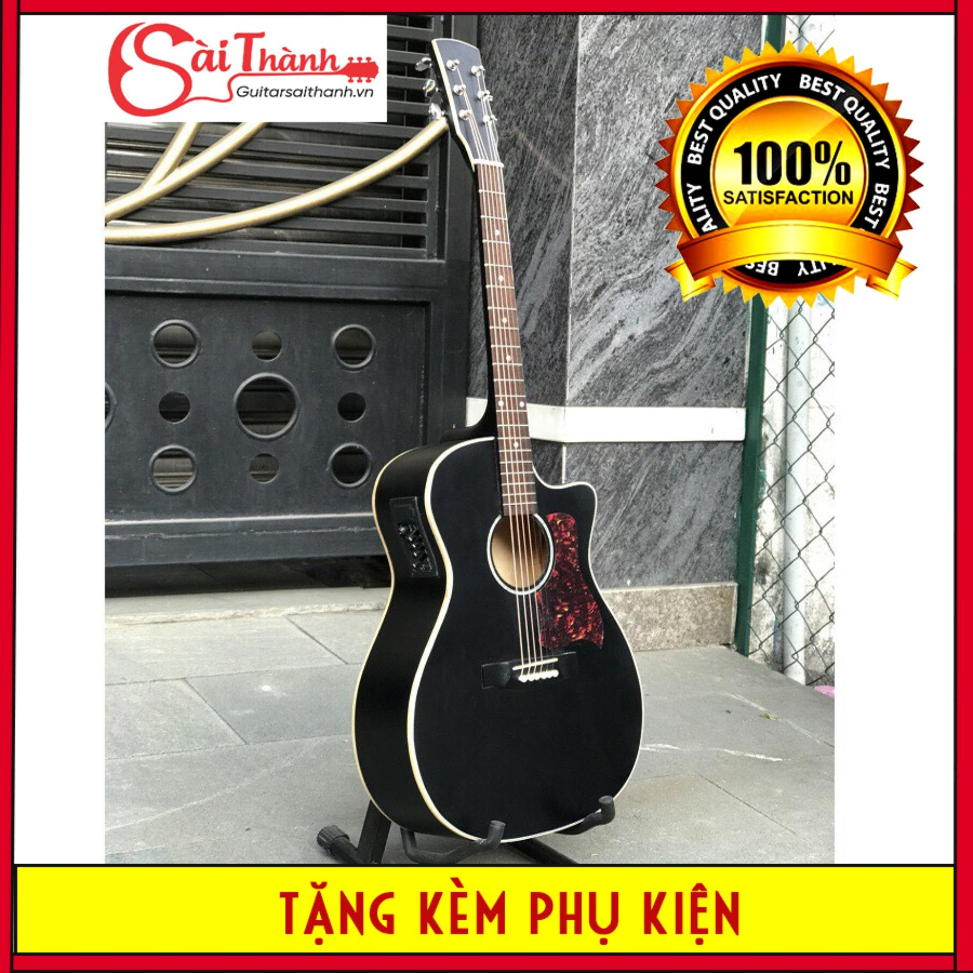 Coupon Giảm Giá Đàn Guitar Acoustic DTY85 Có Lắp EQ Gỗ Thông Nguyên Tấm, âm Thanh Vang, độ Bền Cao - Bảo Hành 2 Năm