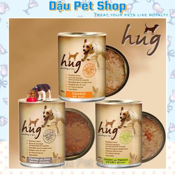 [HCM]Pate Hug cho chó đủ vị - thức ăn cho chó lon 400g cam kết hàng đúng mô tả chất lượng đảm bảo an toàn cho thú cưng sử dụng