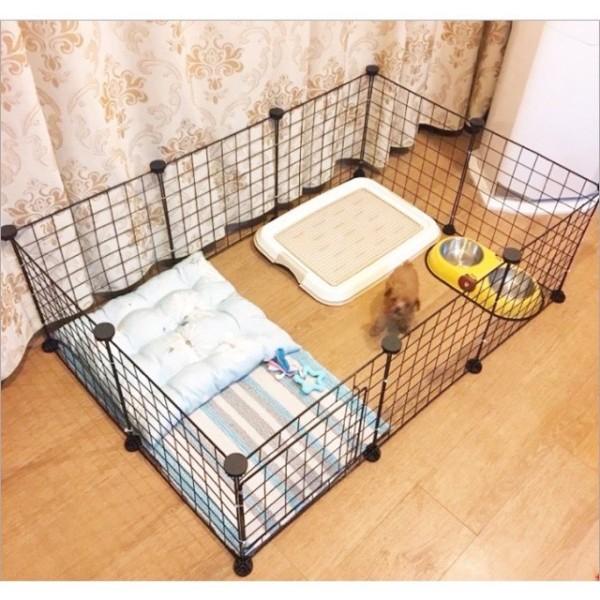 Chuồng Quây Chó Mèo Thú Cưng Lắp Ghép Thông Minh- 1 Tấm Lẻ ( Tặng Kèm Chốt )