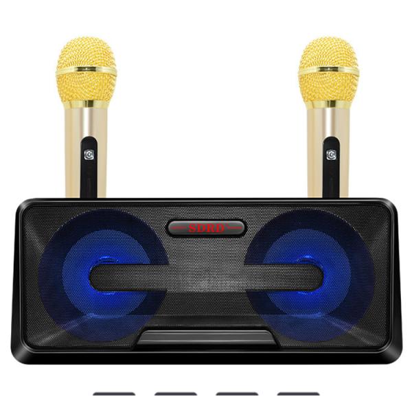 Loa Karaoke SDRD SD-301 Kèm 2 Mic Không Dây - Hàng Cao Cấp, Bảo Hành Uy Tín 12 Tháng  Lỗi 1 Đổi 1