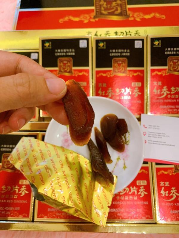 Hồng sâm thái lát tẩm mật ong Sambok Food Hàn Quốc cao cấp