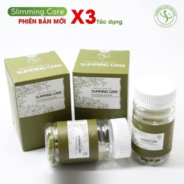 Bộ 2 thảo mộc giảm cân slimming care X3 (liệu trình 30 ngày) nhập khẩu