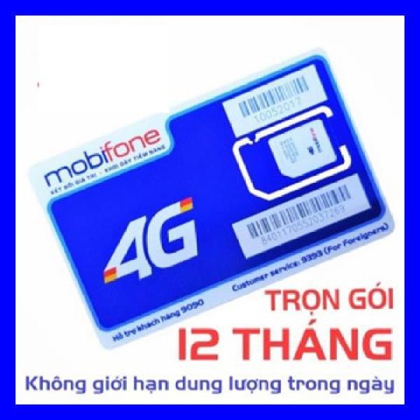 Giá Sim 4G Mobifone  Trọn Gói ,Không cần nạp tiềnF