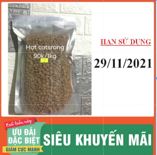 [1kg] Thức ăn hạt mèo Catsrang cho mọi lứa tuổi