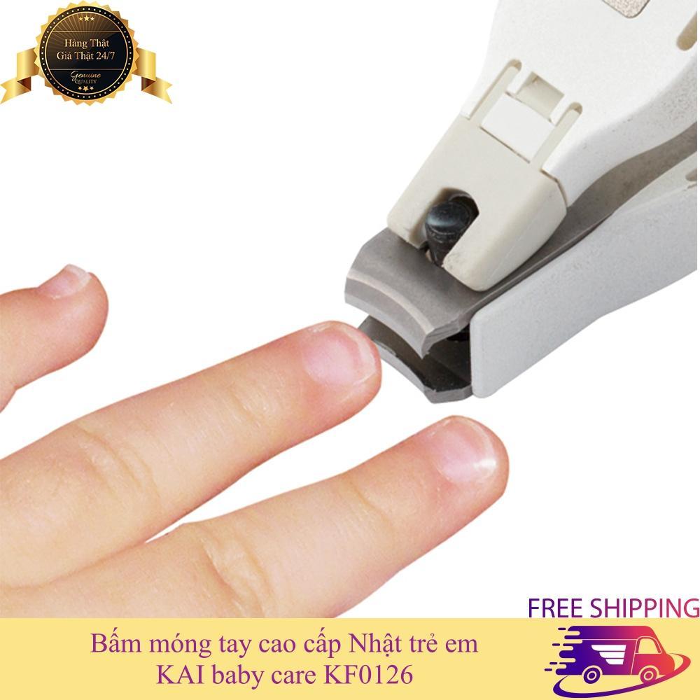 Bấm móng tay cao cấp Nhật trẻ em KAI KF0126 bộ bấm móng tay trẻ em tốt nhất