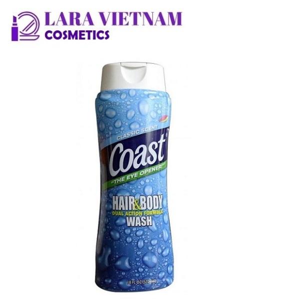 Sữa tắm gội Coast dành cho nam 532ml - CLASSIC SCENT nhập khẩu