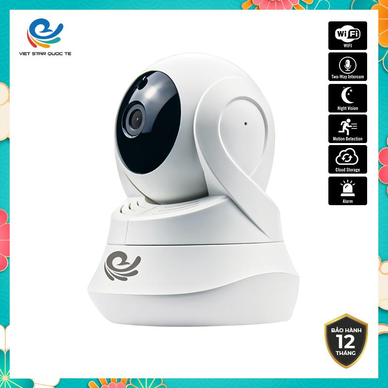 Camera WiFi IP CareCam CC2022- Độ phẩn giải 2.0MP Full HD 1080P- Hỗ trợ cổng LAN- Ban đêm tích hợp hồng ngoại- Phát hiện chuyển động cực nhạy - Bảo hành 12 tháng CC2022