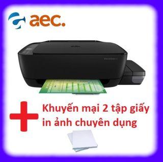 Máy in phun màu đa chức năng HP 415 All In One Wireless (Print copy scan wifi) ( đã bao gồm 4 bình Hàn Quốc chống tắc đầu phun) + Khuyến mãi 2 tập giấy in ảnh thumbnail