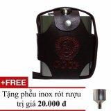 Giá Bán Binh Đựng Rượu Inox 5 Lit Logo Cccp Dập Nổi 18Oz Inox Loại Day Có Thương Hiệu