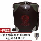 Binh Đựng Rượu Inox Cccp 1 4 Lit 48Oz Inox Loại Dầy 6 Ly Cccp Chiết Khấu 40