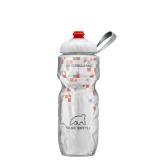 Ôn Tập Binh Nước Xe Đạp Polar Bottle Zipstream™ Breakaway 590Ml Cam