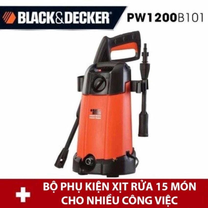 Bán May Phun Xịt Rửa Cao Ap Black Decker Pw1200 Pw1200B101 1200W