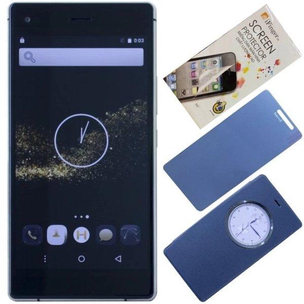 Bộ 1 Arbutus Ar3 8GB (Đen) + 1 Bao da + 1 Dán Cường Lực + 1 Dán màn hình - Hàng nhập khẩu