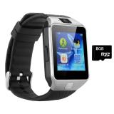 Bộ 1 Đồng Hồ Thong Minh Kiem Điện Thoại Smart Watch Va Thẻ Nhớ Microsd 8Gb Smart Chiết Khấu