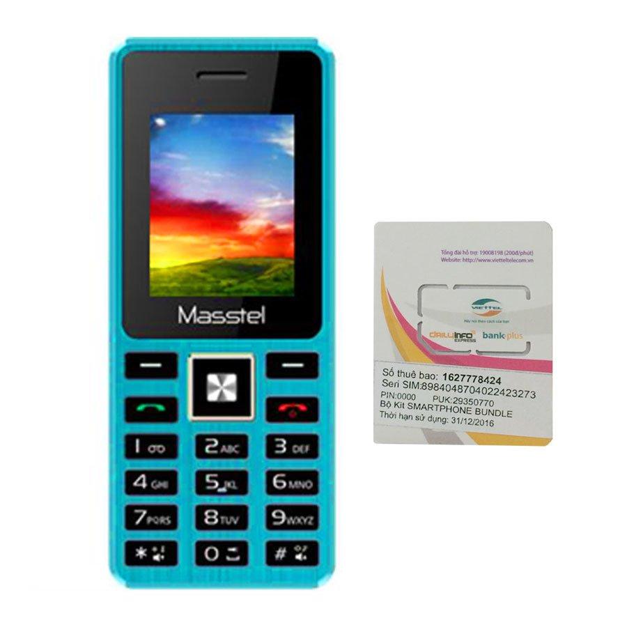 Bộ 1 Đtdđ Masstel A5 2 Sim