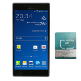 Giá Bán Rẻ Nhất Bộ 1 Lenovo P70 2Sim 16Gb Nau Va 1 Sim Dcom 3G Viettel