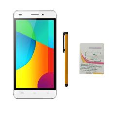 Bộ 1 Masstel N590 4GB 2 Sim (Vàng) + Bút cảm ứng Stylus Touch 1 đầu Pen-x + Sim Viettel