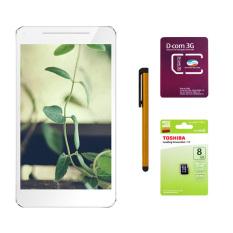 Bán Bộ 1 May Tinh Bảng Masstel Tab 760 8 Gb 2 Sim Bạc Sim Dcom 3G Viettel Thẻ Nhớ Microsd 8Gb Class 4 But Cảm Ứng Stylus Touch 1 Đầu Pen X Có Thương Hiệu Nguyên