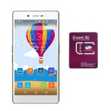 Bộ 1 Mobiistar Lai Yuna 8Gb 2 Sim Vang Đồng Sim Dcom 3G Viettel Rẻ