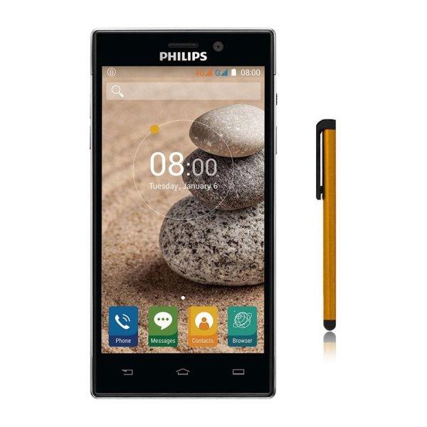 Bộ 1 Philips Xenium V787 16GB (Đen) - Hãng phân phối chính thức + Bút cảm ứng Stylus Touch 1 đầu Pen-x