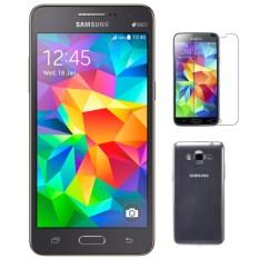 Bộ 1 Samsung Galaxy Grand Prime G530 8GB (đen xám) - Hàng nhập khẩu + Ốp lưng + dán cường lực chính hãng