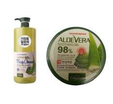Mua Bộ 1 Sữa Tắm Dưỡng Da 500G 1 Gel Dưỡng Thể Organia White Good Nature Aloe Vera 300G Mới Nhất