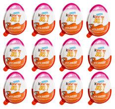 Bộ 12 Socola trứng Kinder Joy 20g (Hồng)