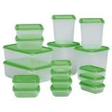 Giá Bán Bộ 17 Hộp Nhựa An Toan Kin Nắp Để Tủ Lạnh Aloma Hà Nội
