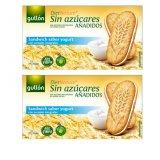 Bộ 2 bánh Ăn Kiêng Gullon DietNature Sin Azucares Sandwich Sabor Yogurt 220g