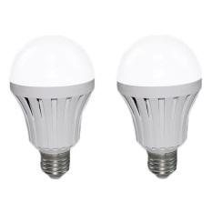 Giá Bán Rẻ Nhất Bộ 2 Bong Đen Led Bulb Tich Điện Thong Minh Smartcharge 12W