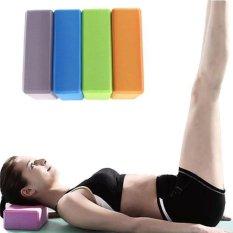 Bán Bộ 2 Gạch Tập Yoga Cao Cấp Sinh Thai Bằng Xốp Evc Xanh None Nguyên