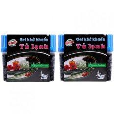 Hình ảnh Bộ 2 gel khử khuẩn tủ lạnh Hando 150g GT026