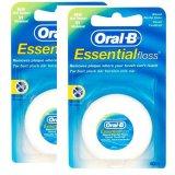 Giá Bán Bộ 2 Hộp Chỉ Nha Khoa 2X50M Oral B Essential Floss Rẻ Nhất