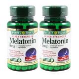Giá Bán Bộ 2 Hộp Vien Uống Hỗ Trợ Giấc Ngủ Nature S Bounty Super Strength Melatonin 5Mg 60 Vien Tốt Nhất