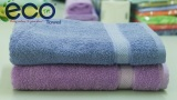 Giá Bán Bộ 2 Khăn Tắm Cotton 70X140Cm Eco Tc01 Xanh Dương Tim Mới