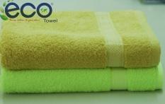 Bán Bộ 2 Khăn Tắm Cotton 70X140Cm Eco Tc01 Xanh La Cay Nau Hà Nội Rẻ