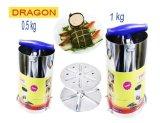 Mua Bộ 2 Khuon Lam Gio Chả Inox Dragon Loại 5Kg Va 1Kg Rẻ Hồ Chí Minh