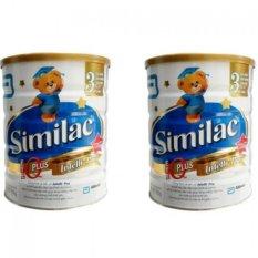 Chiết Khấu Bộ 2 Sữa Bột Abbott Similac Gain Plus Iq 3 900G