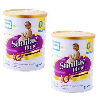 Bộ 2 sữa bột ABBOTT Similac Mom IQ Plus 900g thumbnail