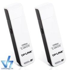 Bán Bộ 2 Usb Thu Song Wifi Tp Link Wn727N Trắng Nguyên