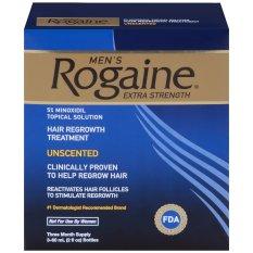 Bộ 3 chai thuốc mọc tóc dành cho nam Men's Rogaine Extra Strength 60ml