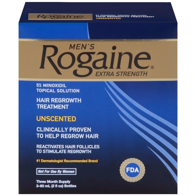 Bộ 3 chai thuốc mọc tóc dành cho nam Mens Rogaine Extra Strength 60ml