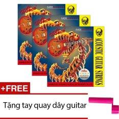 Giá Bán Bộ 3 Hộp 6 Day Đan Guitar Acoustic A406 Tặng Tay Quay Day Guitar Nguyên Alice