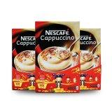 Giá Bán Bộ 3 Hộp Ca Phe Nescafe Capuccino 10 Goi X 18G Mới Rẻ