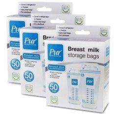 Bán Bộ 3 Hộp Tui Trữ Sữa Pur 50 Tui X 3 Hộp Có Thương Hiệu Rẻ