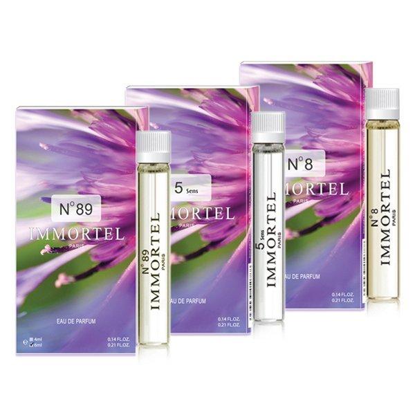 Bộ 3 nước hoa CB8 mini Immortel Paris No89 5sens No8 Eau De Parfum 6ml